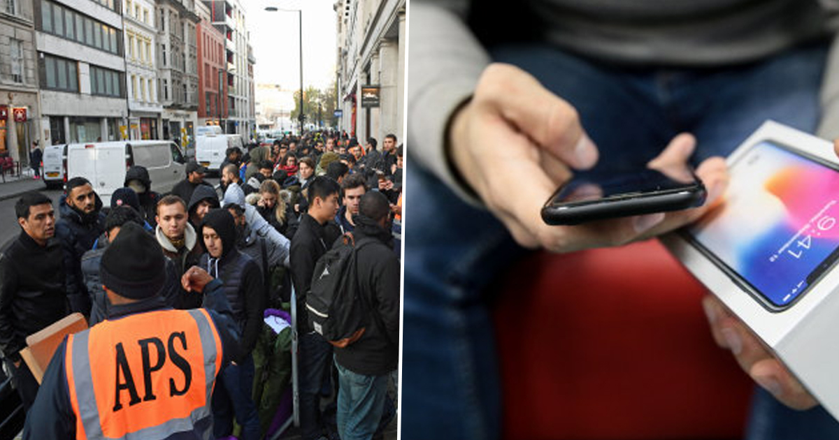 Guy Who Queued For iPhone X Since Tuesday Blows Money Hours Before Launch ihpone thumbnail