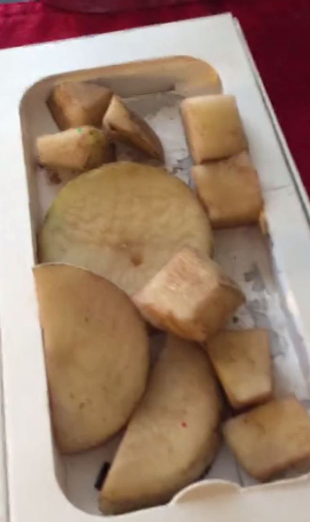 Woman Buys 11 Potatoes Thinking Its An iPhone In Black Friday Sale iphone