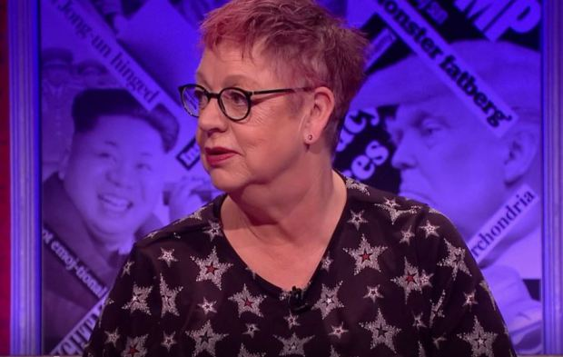 Jo Brand Perfectly Silences All Male Panel After Sexual Harassment Joke jo brand