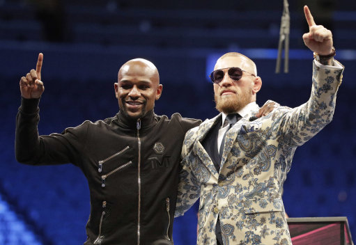 Floyd Mayweather Is Considering A 51st Fight mcgregor 3 1