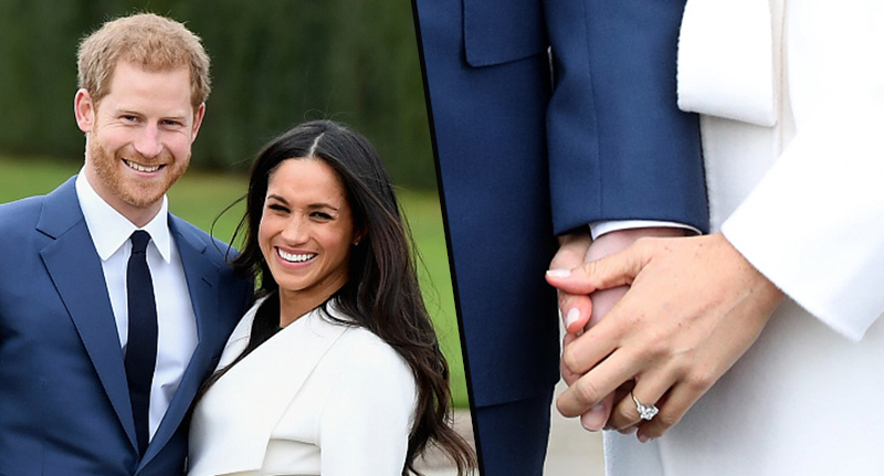 Prince Harrys Stunning Tribute To Diana With Meghans Ring meghan markle ring fb 1