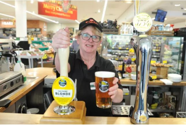 Morrisons Has Started Serving Pints While You Shop morrisons
