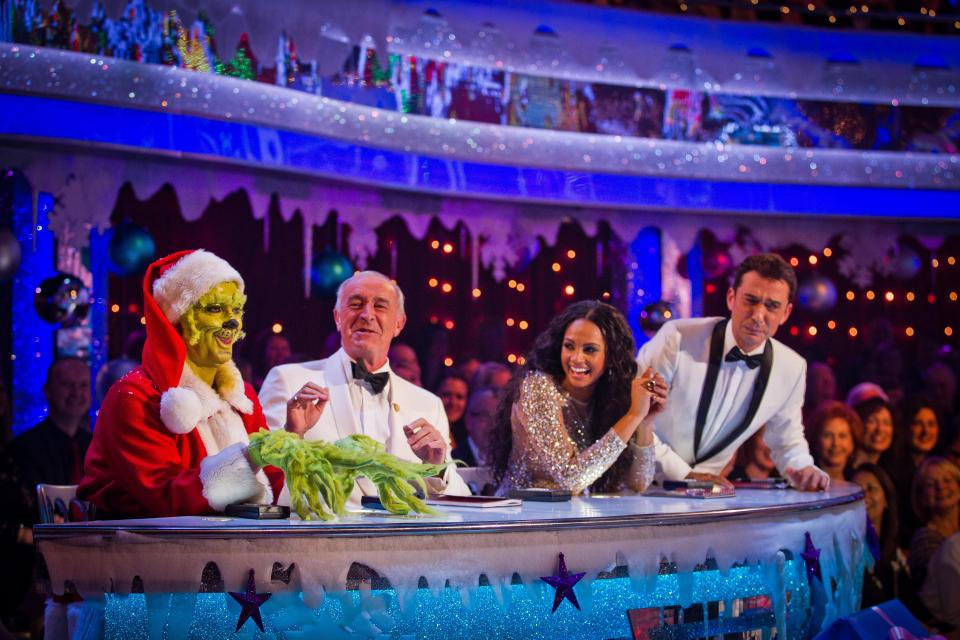Nigel Harvey Strictly Come Dancing Christmas special
