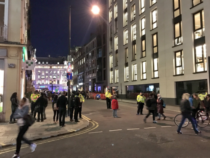 Armed Police Respond To Incident At Oxford Circus oxford33
