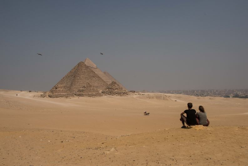 Hidden Structure Found Inside Great Pyramid Of Giza In Huge Breakthrough pyramid 1