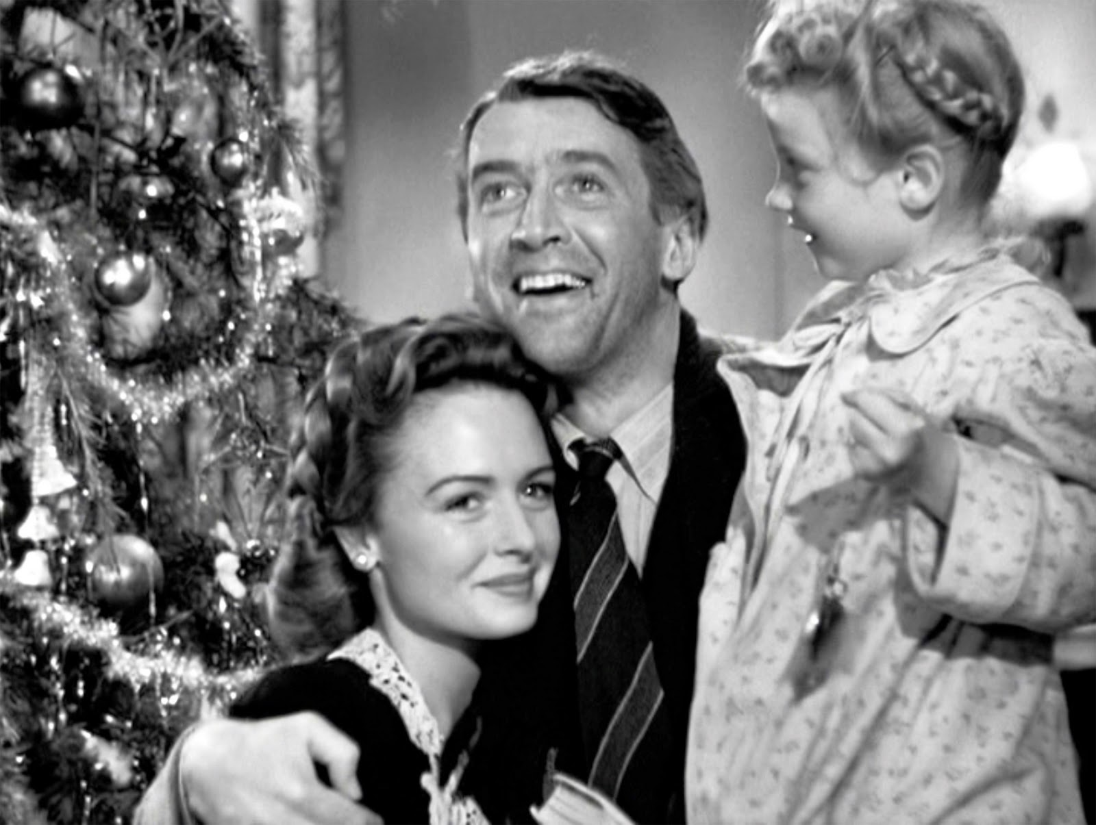 It's A Wonderful Life family smiling