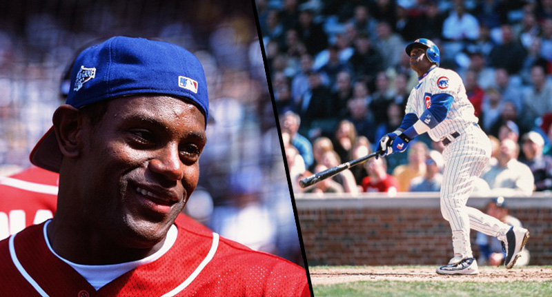 Black Sports Star Shocks Fans As He Posts Pics With White Skin sammy sosa fb 1