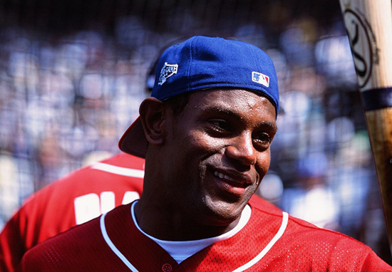 Black Sports Star Shocks Fans As He Posts Pics With White Skin sammy sosa web