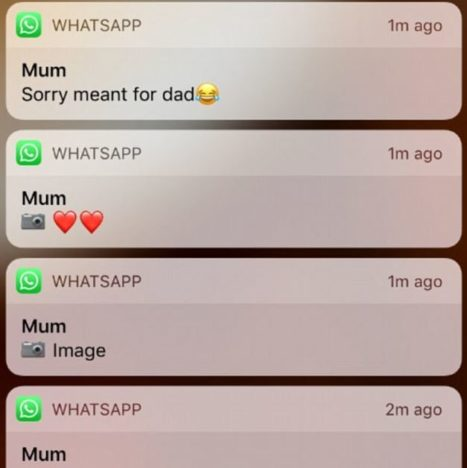 Guy Terrified As Mum Sends Him Pictures Meant For His Dad scary whatsapp 467x468