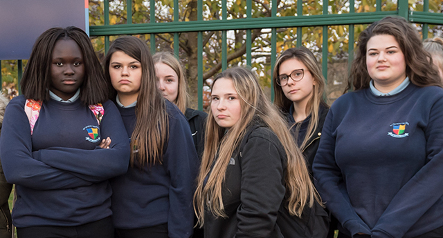 Girls Punished Because Their Trousers Are 'Distracting Teachers'