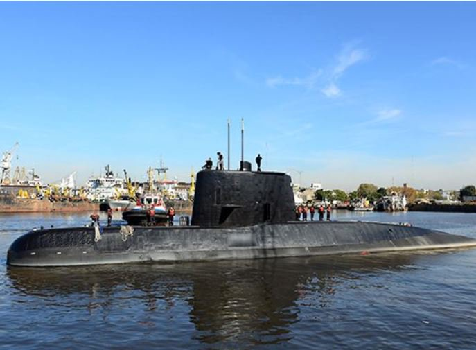 US Navy Spot Object Where Missing Submarine Last Sent Signal submarine search 1