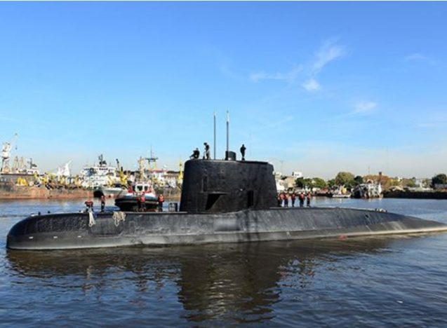 Officials Admit They Have No Trace Of Missing Submarine Crew submarine search 637x468