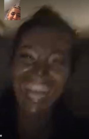 Woman Makes Boyfriends Son Cry After Fake Tan Turns Her Completely Black tanning mishap 300x468