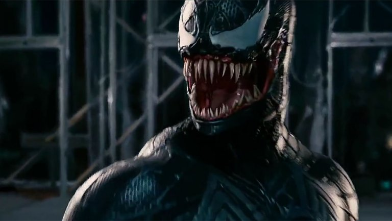 First Look At Tom Hardys Venom Leaked venom spiderman