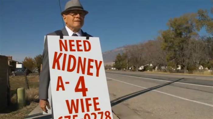 Man Who Walked Hundreds Of Miles To Find Wife Kidney Donor Finds Match wayne 1
