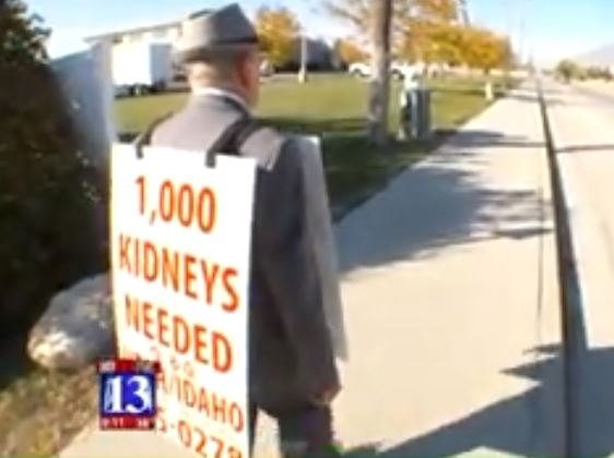 Man Who Walked Hundreds Of Miles To Find Wife Kidney Donor Finds Match wayne web