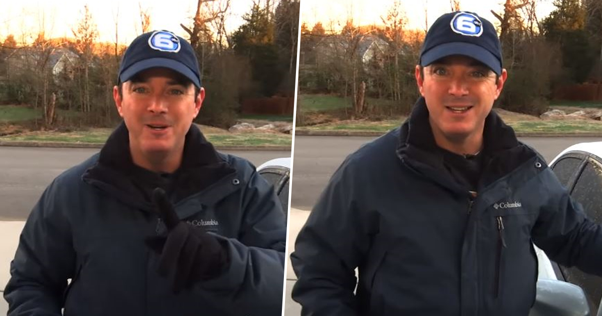 Weathermans Tip On How To Instantly Defrost Your Car Windscreen Goes Viral weather thumby