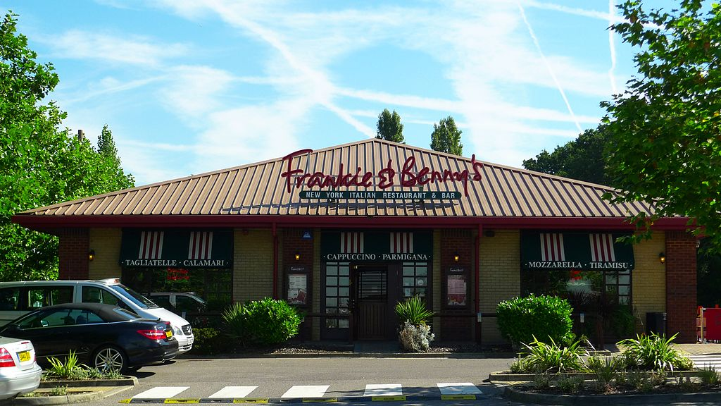 Dad Furious After Frankie And Bennys Get His Daughter, 4, Drunk 1024px Frankie and Bennys Chingford E4 7961446128