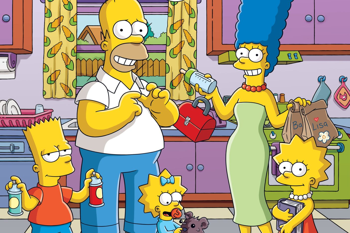The Simpsons Voted Greatest Sitcom Of All Time %name