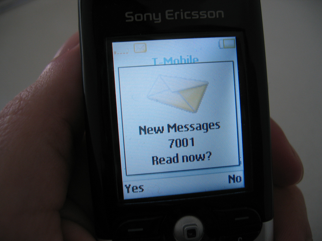 when was the first text message sent
