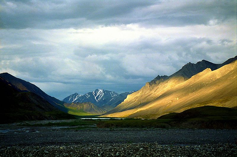US Votes To Allow Oil Drilling In Arctic Wildlife Refuge 800px Alaska ANWR Canning River 3