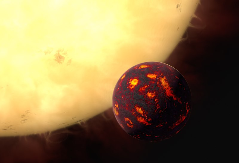 Super Earth That Could Hold Alien Life Has Just Been Discovered 800px Artist's impression of 55 Cancri e