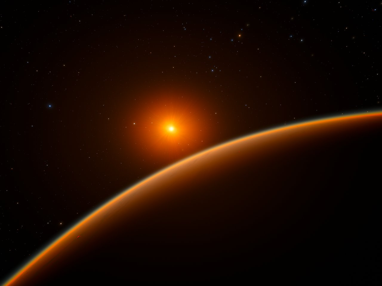 Super Earth That Could Hold Alien Life Has Just Been Discovered Artist's impression of the super Earth exoplanet LHS 1140b