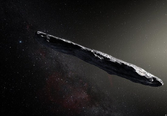 First Alien Object To Visit Solar System Is Protected By Strange Shield Asteroid web