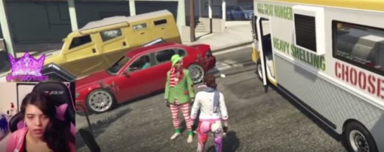YouTuber Breaks Down After Being 'Raped' On GTA V During Live Stream BRITTANY 1 750x297