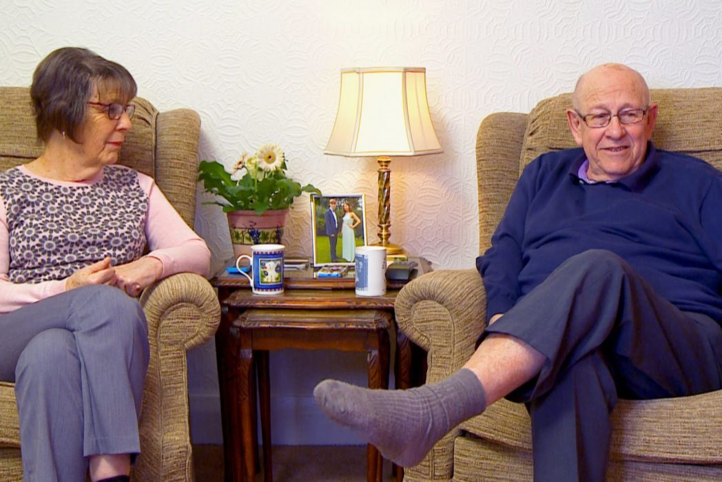 Goggleboxs June Pays Tribute To Childhood Sweetheart Leon Bernicoff CHANNEL 4 1 1 1048x700