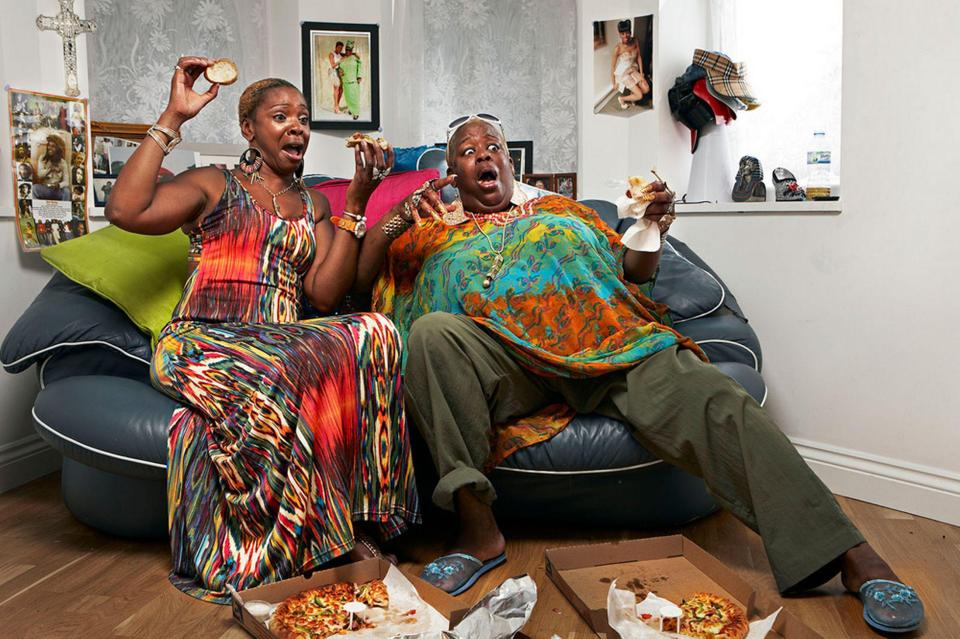 Goggleboxs Sandra Becomes Homeless Days Before Christmas CHANNEL 4 3