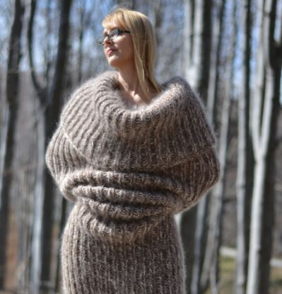 Scarf That Makes People Look Like Giant Sock Goes On Sale