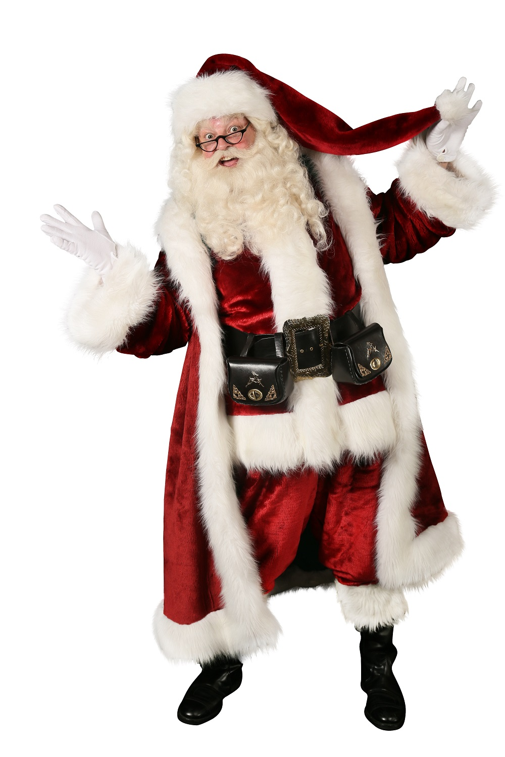 Professional Santa Answers One Question Were All Thinking Celebrity Santa Full Length 1s