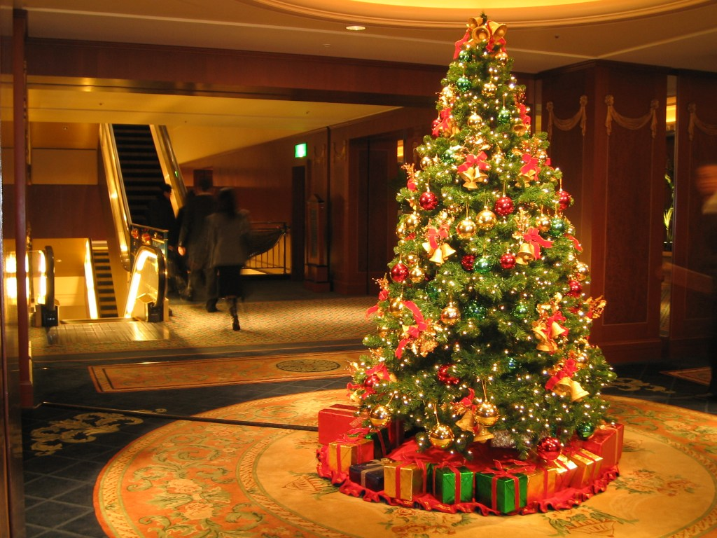 Disgusting Reason You Shouldnt Steal Christmas Trees Christmas Tree at the Westin Tokyo
