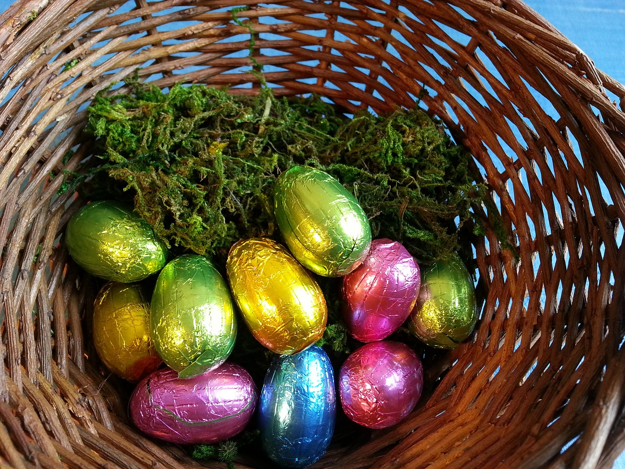 People Have Spotted Easter Eggs In Supermarkets Already Easter Eggs Happy Basket Egg Green Chocolate 686147