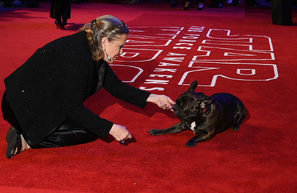 Carrie Fishers Dog To Make Cameo In Star Wars: The Last Jedi GettyImages 501609612