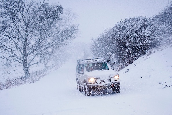 If You Drive With Snow On Your Roof You Could Be Hit With Huge Fine GettyImages 888363244