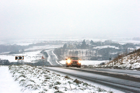 If You Drive With Snow On Your Roof You Could Be Hit With Huge Fine GettyImages 889337416