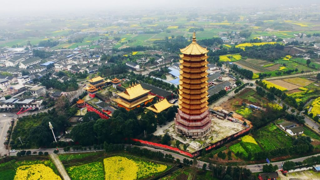 Asias Tallest Wooden Pagoda Burns To Ground After Huge Fire GettyImages 891164074