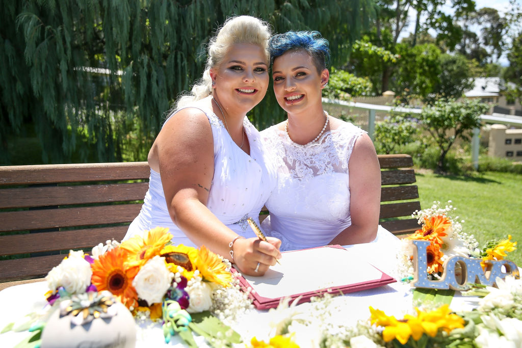 Australias First Official Gay Marriage Has Taken Place GettyImages 893749328