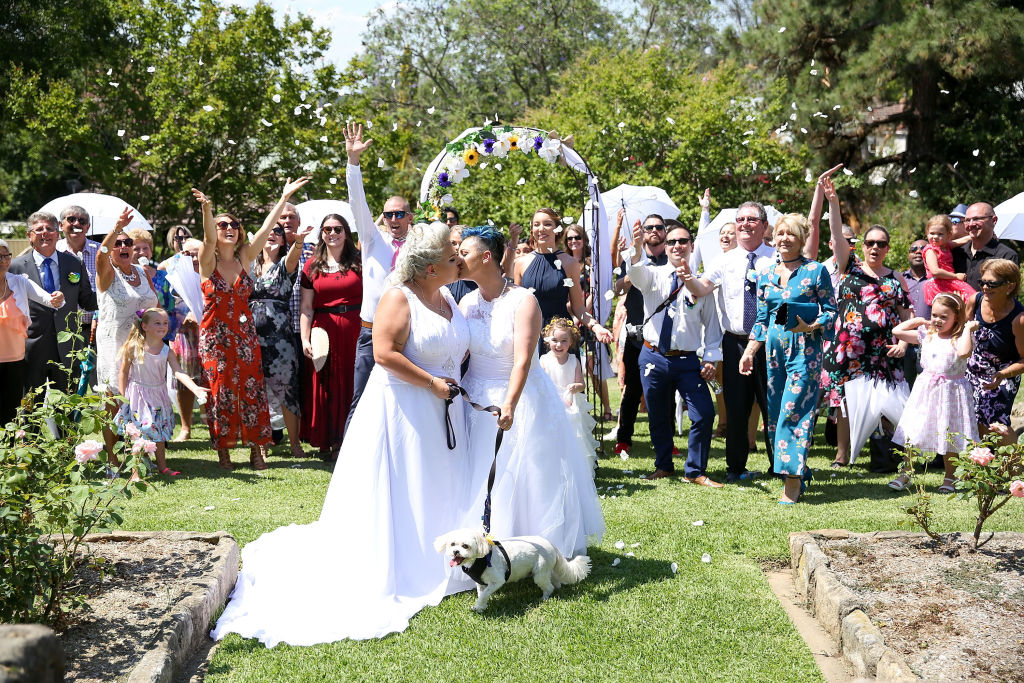 Australias First Official Gay Marriage Has Taken Place GettyImages 893749786