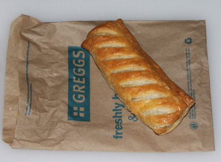 Man Arrested For Flashing, Turns Out He Was Holding A Greggs Sausage Roll Greggs sausage roll
