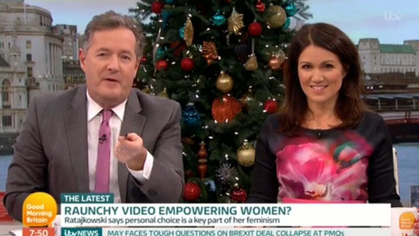 Piers Morgan Called Out For Insult To Emily Ratajkowski Over LOVE Shoot ITV 1