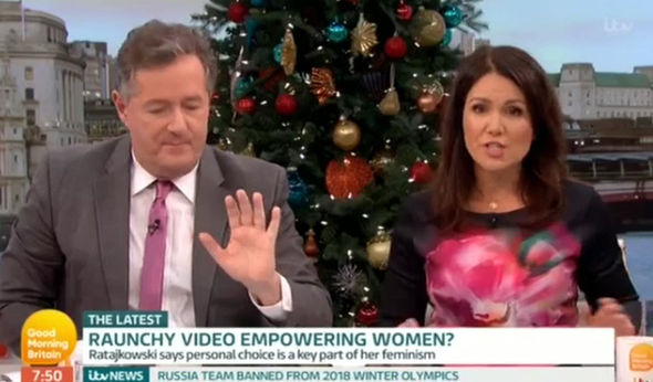Piers Morgan Called Out For Insult To Emily Ratajkowski Over LOVE Shoot ITV 2