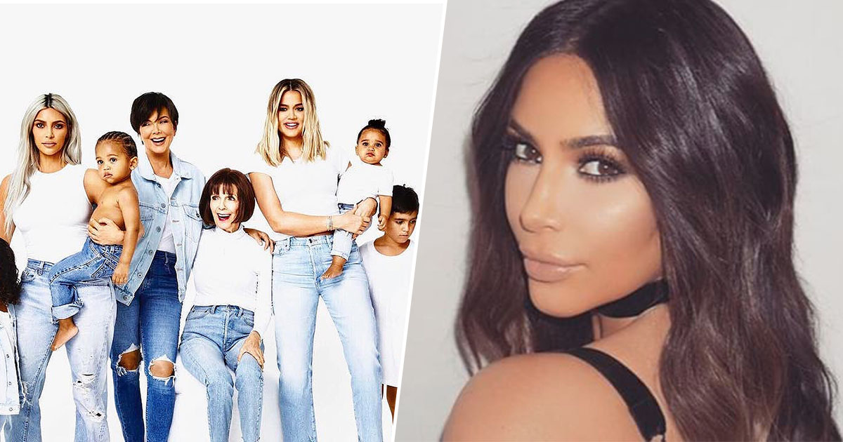 Something Disturbing Spotted On Kardashian Christmas Card