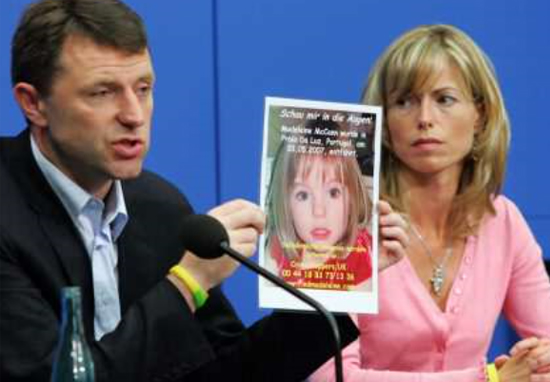 Kate And Gerry McCann Face New Misery In Search For Maddie Kate Gerry A