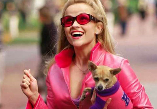 Resse Witherspoon in Legally Blonde