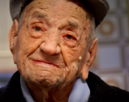 Worlds Oldest Man Says Drinking Wine Is Key To Long Life Screen Shot 2017 12 14 at 09.58.08
