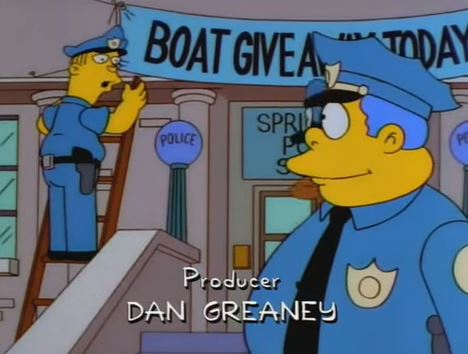 Police Fool 21 People Into Being Arrested Using Plan Stolen From The Simpsons Simpsons