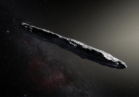 Stephen Hawking Has Huge Warning About Mystery Space Object UFO A